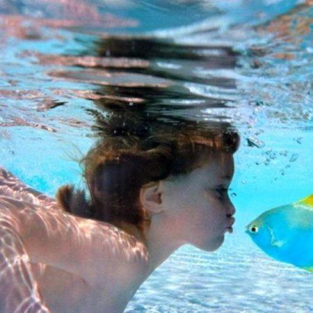 Аква упражнения для детей