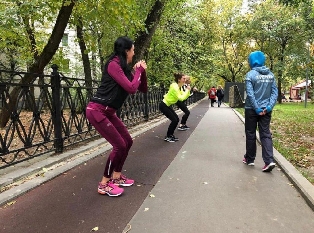 """Открытые outdoor тренировки в парке """"Красная Пресня""""!"""