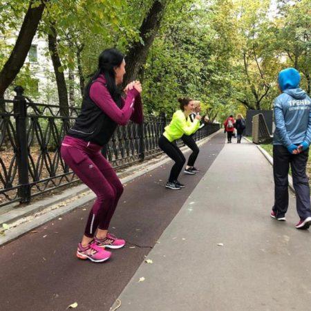 """Открытые outdoor тренировки в парке """"Красная Пресня"""""""